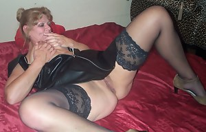 Free MILF Leather Porn Pictures